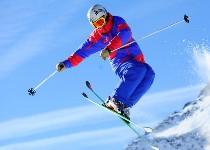 Großansicht Freestyle auf Skiern
