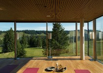 Großansicht Entspannungsbereich im Almhotel