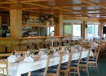 Großansicht Speisesaal für die Hochzeit