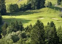 Großansicht Landschaft rund um den Golfpark
