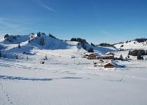Großansicht Skigebiet rund um das Almhotel