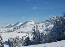 Großansicht Winterlandschaft